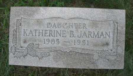 JARMAN, KATHERINE B. - Montgomery County, Ohio | KATHERINE B. JARMAN - Ohio Gravestone Photos
