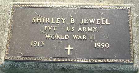 JEWELL, SHIRLEY B - Montgomery County, Ohio | SHIRLEY B JEWELL - Ohio Gravestone Photos