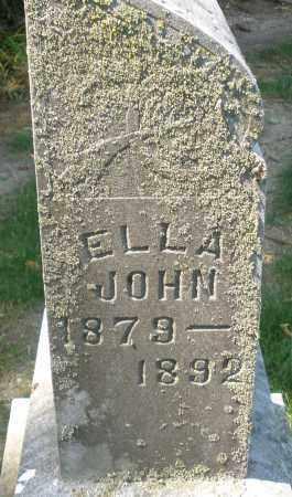 JOHN, ELLA - Montgomery County, Ohio | ELLA JOHN - Ohio Gravestone Photos