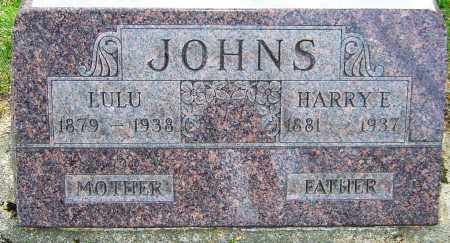 ANSON JOHNS, LULU - Montgomery County, Ohio | LULU ANSON JOHNS - Ohio Gravestone Photos