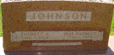 BARNETT JOHNSON, MAE - Montgomery County, Ohio | MAE BARNETT JOHNSON - Ohio Gravestone Photos