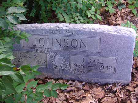 JOHNSON, EARL W - Montgomery County, Ohio | EARL W JOHNSON - Ohio Gravestone Photos