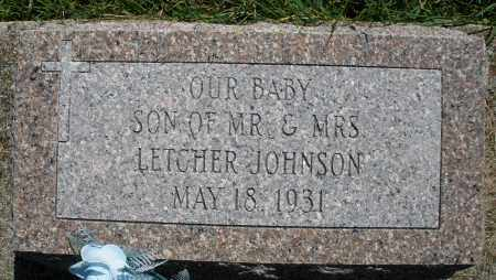 JOHNSON, INFANT SON - Montgomery County, Ohio | INFANT SON JOHNSON - Ohio Gravestone Photos