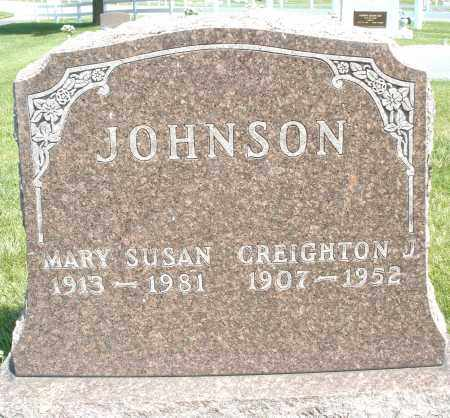 JOHNSON, CREIGHTON J. - Montgomery County, Ohio | CREIGHTON J. JOHNSON - Ohio Gravestone Photos