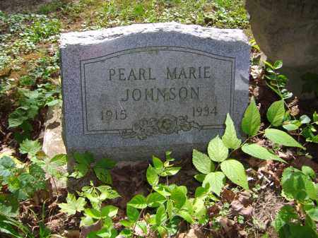 JOHNSON, PEARL MARIE - Montgomery County, Ohio | PEARL MARIE JOHNSON - Ohio Gravestone Photos