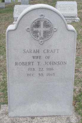 JOHNSON, SARAH - Montgomery County, Ohio | SARAH JOHNSON - Ohio Gravestone Photos