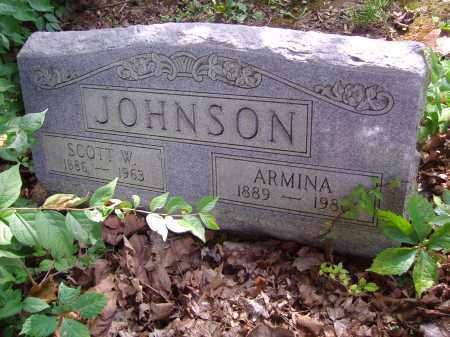 JOHNSON, ARMINA - Montgomery County, Ohio | ARMINA JOHNSON - Ohio Gravestone Photos