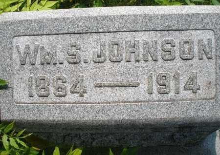 JOHNSON, WILLIAM S. - Montgomery County, Ohio | WILLIAM S. JOHNSON - Ohio Gravestone Photos