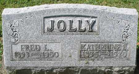 JOLLY, FRED L. - Montgomery County, Ohio | FRED L. JOLLY - Ohio Gravestone Photos