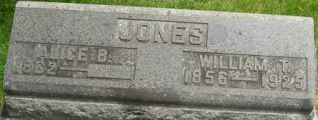 JONES, WILLIAM THOMAS - Montgomery County, Ohio | WILLIAM THOMAS JONES - Ohio Gravestone Photos