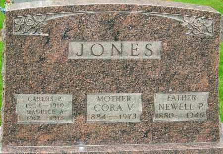JETT JONES, CORA V - Montgomery County, Ohio | CORA V JETT JONES - Ohio Gravestone Photos