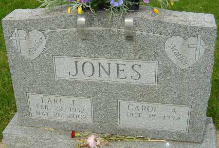 JONES, EARL J - Montgomery County, Ohio | EARL J JONES - Ohio Gravestone Photos