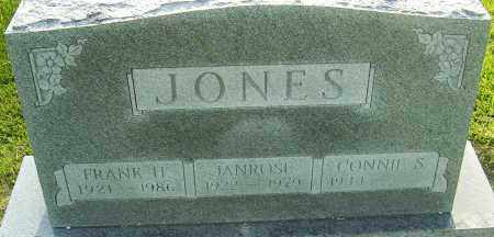 JONES, JANROSE - Montgomery County, Ohio | JANROSE JONES - Ohio Gravestone Photos