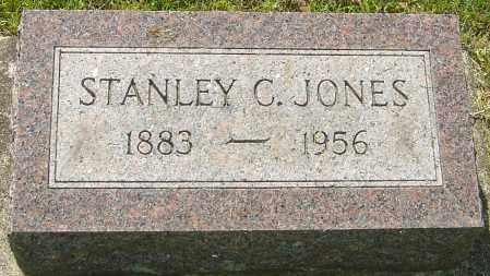 JONES, STANLEY C - Montgomery County, Ohio | STANLEY C JONES - Ohio Gravestone Photos
