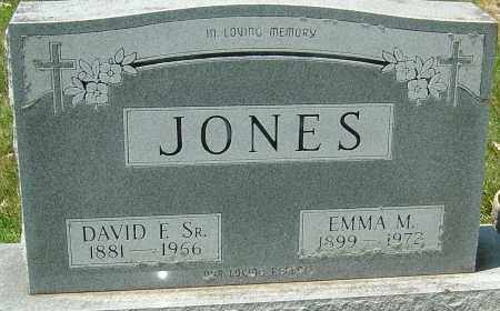 REED JONES, EMMA MARIA - Montgomery County, Ohio | EMMA MARIA REED JONES - Ohio Gravestone Photos