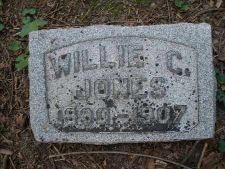 JONES, WILLIE C. - Montgomery County, Ohio | WILLIE C. JONES - Ohio Gravestone Photos