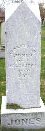 JONES, WALTER A. - Montgomery County, Ohio | WALTER A. JONES - Ohio Gravestone Photos