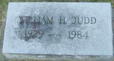 JUDD, WILLIAM H - Montgomery County, Ohio | WILLIAM H JUDD - Ohio Gravestone Photos
