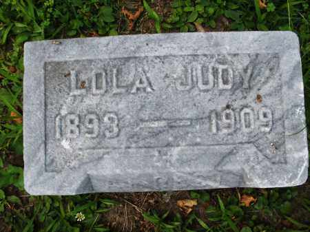 JUDY, LOLA - Montgomery County, Ohio | LOLA JUDY - Ohio Gravestone Photos