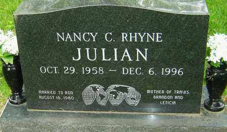 JULIAN, NANCY C - Montgomery County, Ohio | NANCY C JULIAN - Ohio Gravestone Photos