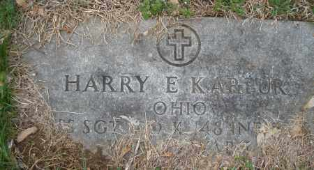 KARPUR, HARRY E. - Montgomery County, Ohio | HARRY E. KARPUR - Ohio Gravestone Photos