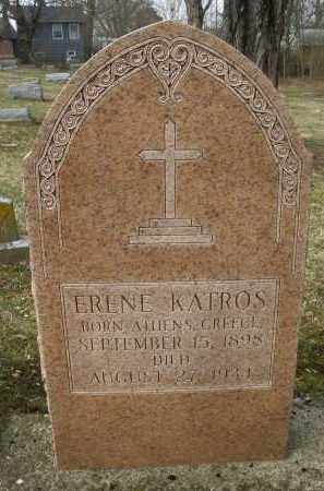 KATROS, ERENE - Montgomery County, Ohio | ERENE KATROS - Ohio Gravestone Photos