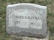 KAUFFMAN, J. EDWARD - Montgomery County, Ohio | J. EDWARD KAUFFMAN - Ohio Gravestone Photos