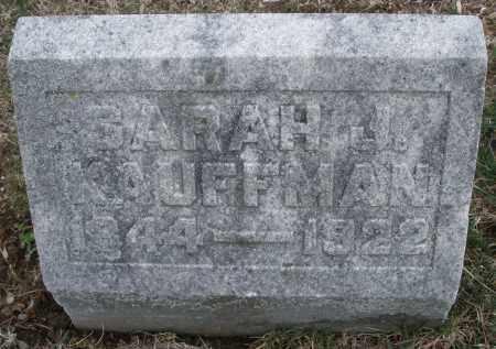KAUFFMAN, SARAH J. - Montgomery County, Ohio | SARAH J. KAUFFMAN - Ohio Gravestone Photos