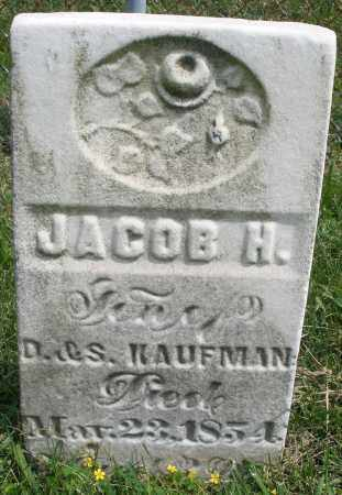 KAUFMAN, JACOB H. - Montgomery County, Ohio | JACOB H. KAUFMAN - Ohio Gravestone Photos