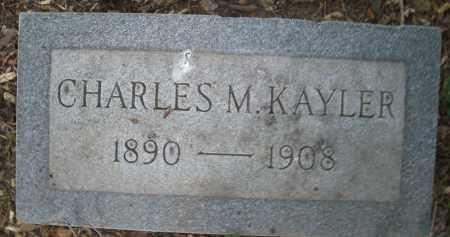 KAYLER, CHARLES M. - Montgomery County, Ohio | CHARLES M. KAYLER - Ohio Gravestone Photos