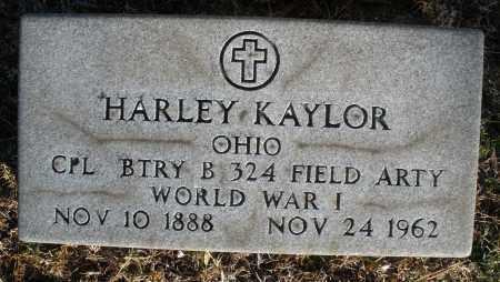 KAYLOR, HARLEY - Montgomery County, Ohio | HARLEY KAYLOR - Ohio Gravestone Photos