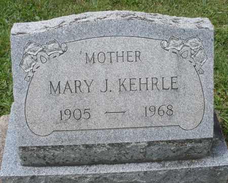 KEHRLE, MARY J. - Montgomery County, Ohio | MARY J. KEHRLE - Ohio Gravestone Photos