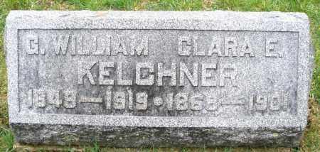 KELCHNER, G. WILLIAM - Montgomery County, Ohio | G. WILLIAM KELCHNER - Ohio Gravestone Photos