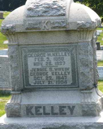 KELLEY, JENNIE B. - Montgomery County, Ohio | JENNIE B. KELLEY - Ohio Gravestone Photos
