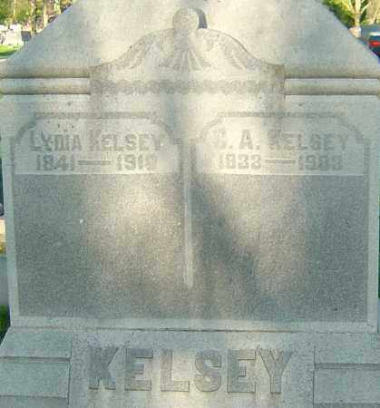 KELSEY, CHARLES ALFRED - Montgomery County, Ohio | CHARLES ALFRED KELSEY - Ohio Gravestone Photos