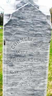KELSEY, CORNELIA A. - Montgomery County, Ohio | CORNELIA A. KELSEY - Ohio Gravestone Photos