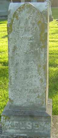 KELSEY, REBECCA - Montgomery County, Ohio | REBECCA KELSEY - Ohio Gravestone Photos
