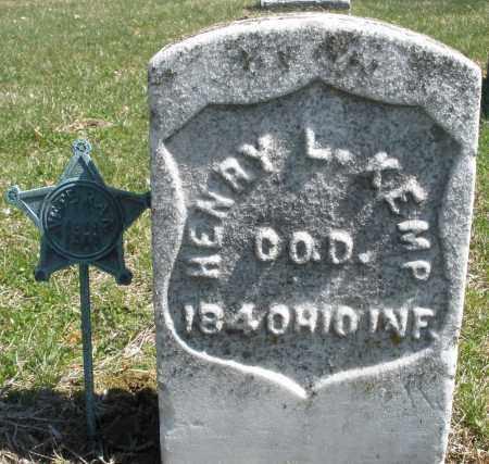 KEMP, HENRY L. - Montgomery County, Ohio | HENRY L. KEMP - Ohio Gravestone Photos