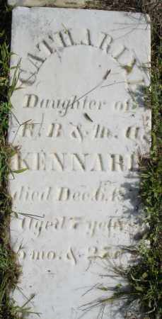 KENNARD, CATHARINE - Montgomery County, Ohio | CATHARINE KENNARD - Ohio Gravestone Photos
