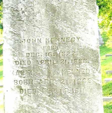 KENNEDY, JOHN - Montgomery County, Ohio   JOHN KENNEDY - Ohio Gravestone Photos