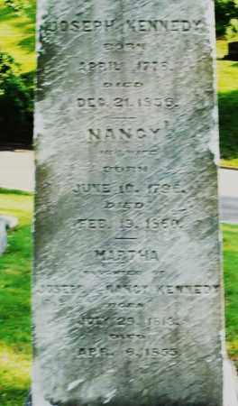 KENNEDY, MARTHA - Montgomery County, Ohio | MARTHA KENNEDY - Ohio Gravestone Photos