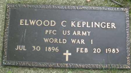 KEPLINGER, ELWOOD C. - Montgomery County, Ohio | ELWOOD C. KEPLINGER - Ohio Gravestone Photos