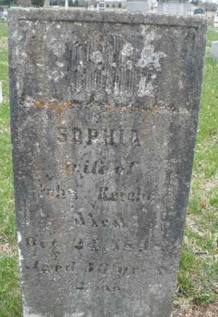 KERCHER, SOPHIA - Montgomery County, Ohio | SOPHIA KERCHER - Ohio Gravestone Photos