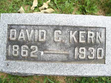 KERN, DAVID C. - Montgomery County, Ohio | DAVID C. KERN - Ohio Gravestone Photos