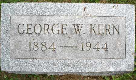 KERN, GEORGE W. - Montgomery County, Ohio | GEORGE W. KERN - Ohio Gravestone Photos