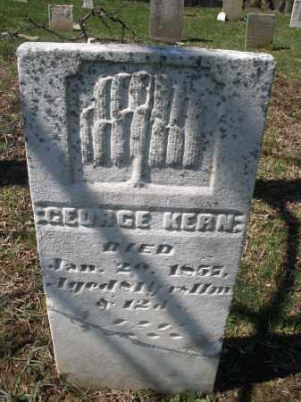 KERN, GEORGE - Montgomery County, Ohio | GEORGE KERN - Ohio Gravestone Photos