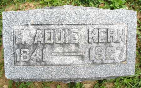KERN, H. ADDIE - Montgomery County, Ohio | H. ADDIE KERN - Ohio Gravestone Photos