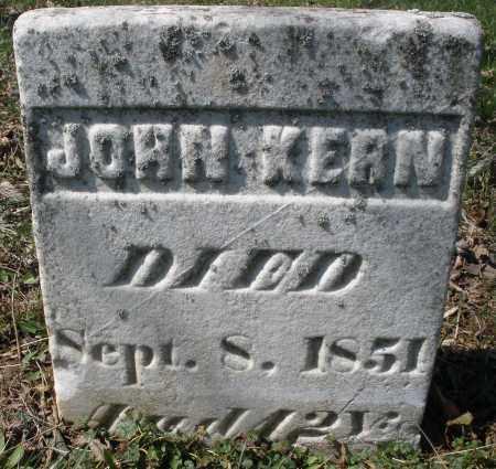 KERN, JOHN - Montgomery County, Ohio | JOHN KERN - Ohio Gravestone Photos