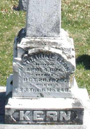 KERN, KATHARINE - Montgomery County, Ohio | KATHARINE KERN - Ohio Gravestone Photos