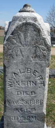 KERN, WILLIAM ALBERT - Montgomery County, Ohio | WILLIAM ALBERT KERN - Ohio Gravestone Photos